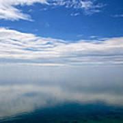 Lake Michigan's Lost Horizon Art Print