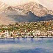Lake Mission Viejo CA Art Print