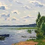 Lake Naroch Art Print