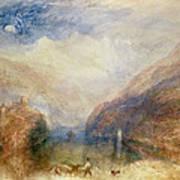 Lake Of Brienz Art Print