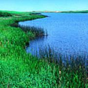 Lake Of The Shining Waters Art Print