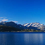 Lake On Mountainside, Sorfolda, Bodo Art Print