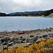 Lake On The Grand Mesa Colorado Art Print