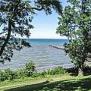 Lake Ontario At Webster Park Art Print