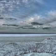 Lake Ontario Snow Art Print