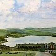 Lake Parker In Glover Art Print