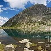 Lake Piccolo - Val Di Sole Art Print