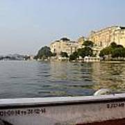 Lake Pichola Art Print
