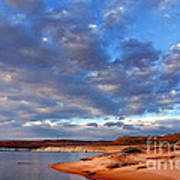 Lake Powell Morning Art Print by Thomas R Fletcher