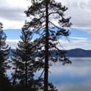 Lake Reflections At Tahoe Art Print
