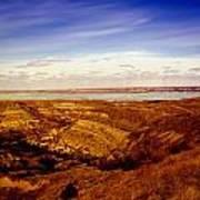 Lake Sakakawea North Dakota Art Print