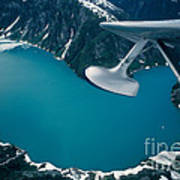 Lake Seen From A Seaplane Art Print