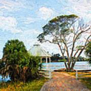 Lake Series 01 Art Print