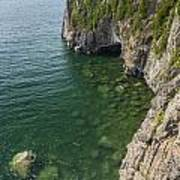 Lake Superior Cliff Scene 9 Art Print