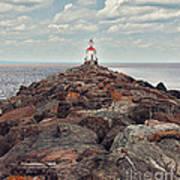 Lake Superior Light House Art Print