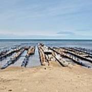 Lake Superior Shipwreck Art Print