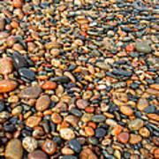 Lake Superior Stones 1 Art Print
