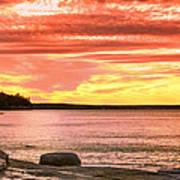 Lake Superior Sunset Art Print