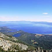 Lake Tahoe, California Art Print