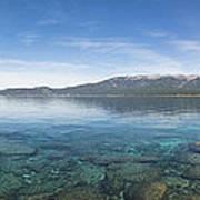Lake Tahoe Calm Art Print