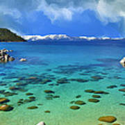 Lake Tahoe Cove Art Print