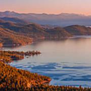 Lake Tahoe East Shore Art Print