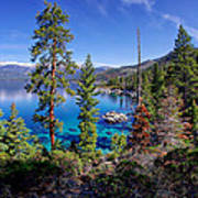 Lake Tahoe Eastern Shore Art Print