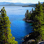 Lake Tahoe From The Rubicon Trail Art Print