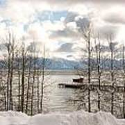 Lake Tahoe In Winter Art Print by Denice Breaux