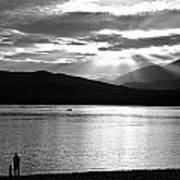 Lake Te Anau Art Print