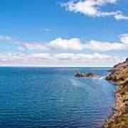 Lake Titicaca Coastline  Art Print
