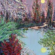 Lake Tranquility Art Print