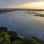 Lake Travis Sunset Art Print