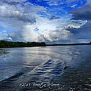 Lake Tuscaloosa Art Print by Bonita Moore