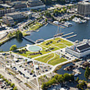 Lake Union Park And Museum Of History Art Print