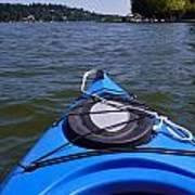 Lake View From Kayak Art Print