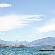 Lake Wanaka Diving Platform Art Print