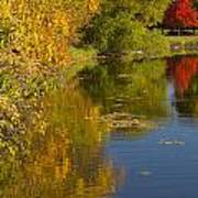 Lake Winona Autumn 13 Art Print