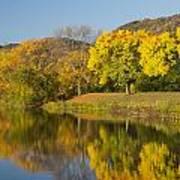 Lake Winona Autumn 8 Art Print