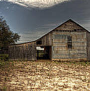 Lake Worth Barn Art Print