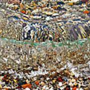 Lakeshore Rocks 2 Art Print