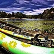 Lakeside Cruzzz Art Print by Scott Allison