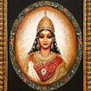 Lakshmi Goddess Of Abundance Art Print