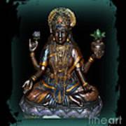 Lakshmi Hindu Goddess Art Print by Eva Thomas