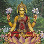 Lakshmi Art Print by Vrindavan Das