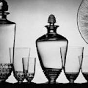 Lalique Glassware Art Print