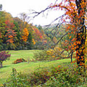 Lamance Valley In The Fall Art Print