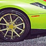 Lamborghini Verde  Art Print