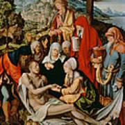 Lamentation For Christ Art Print