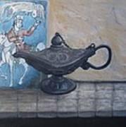 Lamp And Tile Art Print